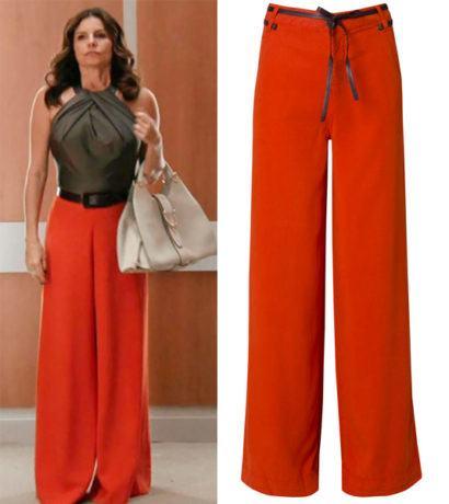 maxi cal%C3%A7as femininas pantalona colorida 410x460 - Lindas Maxi calças femininas pra você ficar na moda