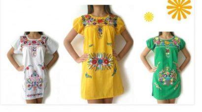 imagem 10 1 410x228 - VESTIDOS MEXICANOS CURTOS, LONGOS moda primavera verão