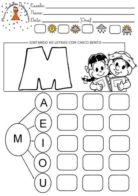 imagem 15 - Atividades com Ma Me Mi Mo Mu sílabas para alfabetização