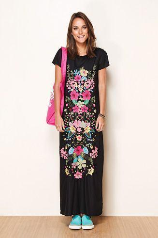 imagem 2 - VESTIDOS MEXICANOS CURTOS, LONGOS moda primavera verão