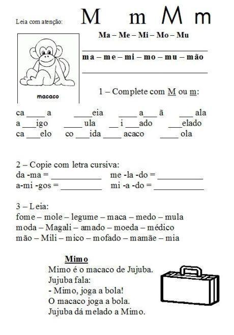 ma me mi mo mu para imprimir 460x656 - Atividades com Ma Me Mi Mo Mu sílabas para alfabetização