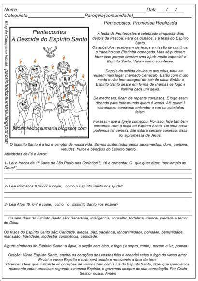 pentecostes-atividades
