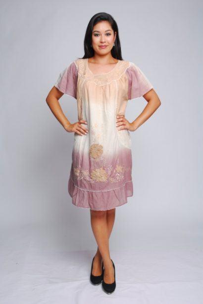 vestidos mexicanos curtos bordados 410x613 - VESTIDOS MEXICANOS CURTOS, LONGOS moda primavera verão