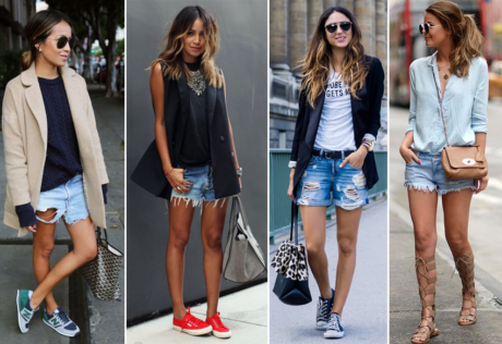 como usar jeans rasgado shorts 460x316 - COMO USAR SHORTS DESTROYED 30 formas especiais se vestir