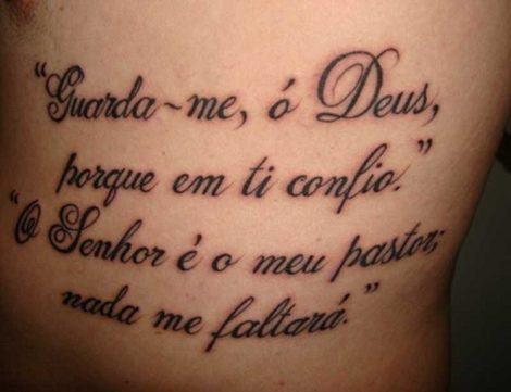Especial Tatuagens De Frases No Braço Na Costela Na Perna E Mais