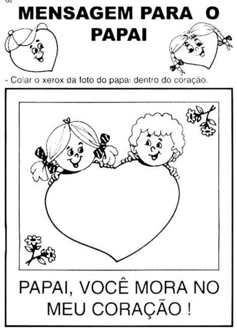 atividades para dia dos pais 10 470x657 - ATIVIDADES escolares PARA DIA DOS PAIS em desenhos bem legais
