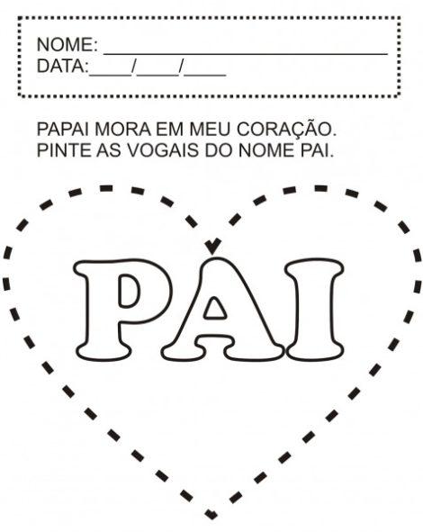 atividades para dia dos pais 15 470x591 - ATIVIDADES escolares PARA DIA DOS PAIS em desenhos bem legais