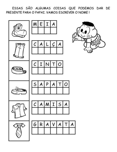 atividades para dia dos pais 3 470x611 - ATIVIDADES escolares PARA DIA DOS PAIS em desenhos bem legais