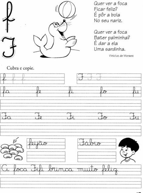 atividades de caligrafia para imprimir 10 470x635 - Atividades de CALIGRAFIA para Imprimir e melhorar a escrita