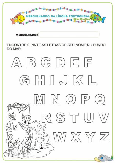 atividades para educacao infantil 4 anos 10 470x665 - Atividades para Educação INFANTIL 4 ANOS para desenvolvimento