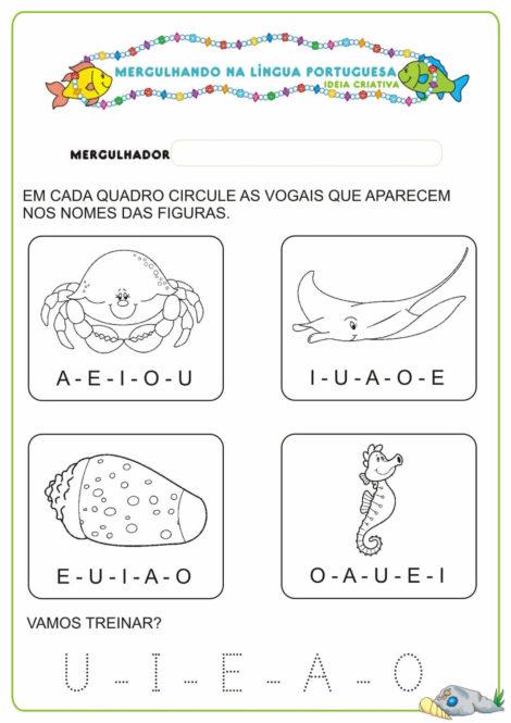 atividades para educacao infantil 4 anos 11 470x665 - Atividades para Educação INFANTIL 4 ANOS para desenvolvimento