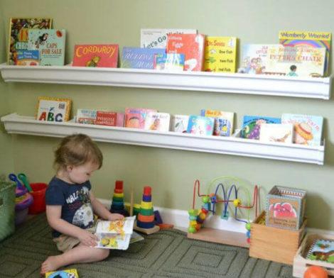 cantinho da leitura 4 470x392 - CANTINHO da leitura para crianças, na escola ou em casa, como fazer