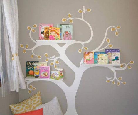 cantinho da leitura 7 470x392 - CANTINHO da leitura para crianças, na escola ou em casa, como fazer