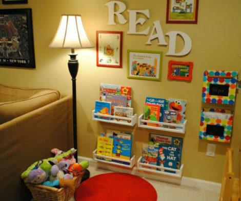 imagem 11 470x392 - CANTINHO da leitura para crianças, na escola ou em casa, como fazer