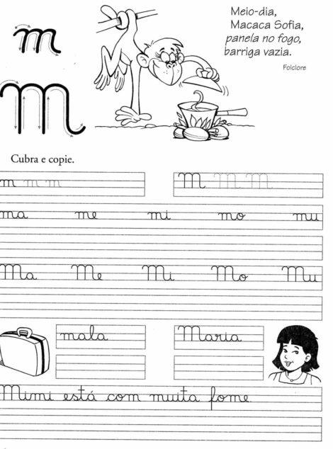imagem 16 3 470x634 - Atividades de CALIGRAFIA para Imprimir e melhorar a escrita