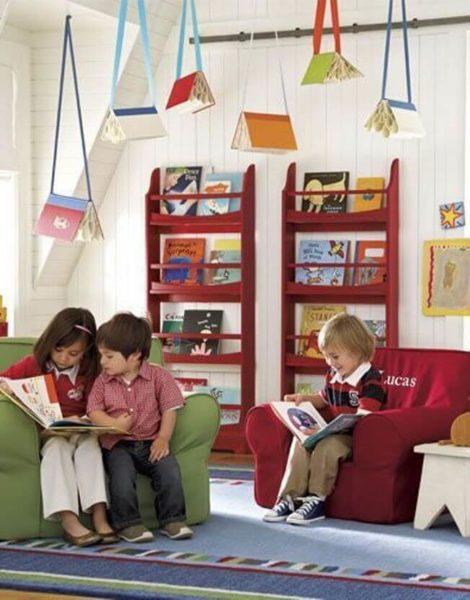 imagem 19 470x600 - CANTINHO da leitura para crianças, na escola ou em casa, como fazer