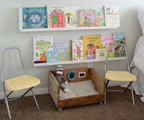 imagem 20 470x392 - CANTINHO da leitura para crianças, na escola ou em casa, como fazer