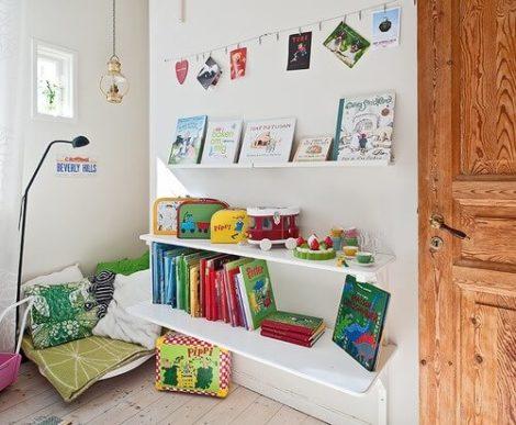 imagem 25 470x387 - CANTINHO da leitura para crianças, na escola ou em casa, como fazer