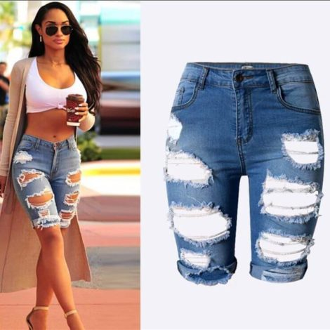 short jeans curto 1 470x470 - Como usar: SHORTS JEANS CURTO em diversos looks