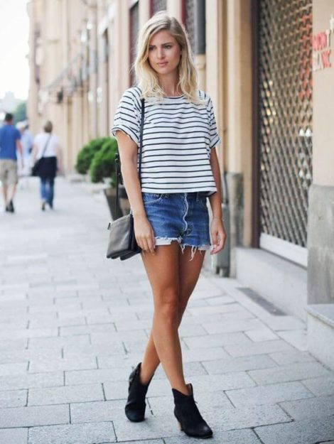 short jeans curto 10 470x625 - Como usar: SHORTS JEANS CURTO em diversos looks