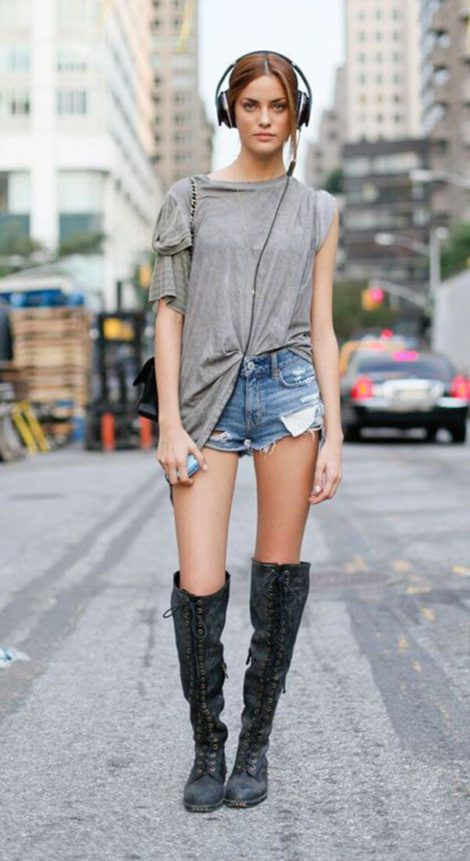 short jeans curto 11 470x861 - Como usar: SHORTS JEANS CURTO em diversos looks
