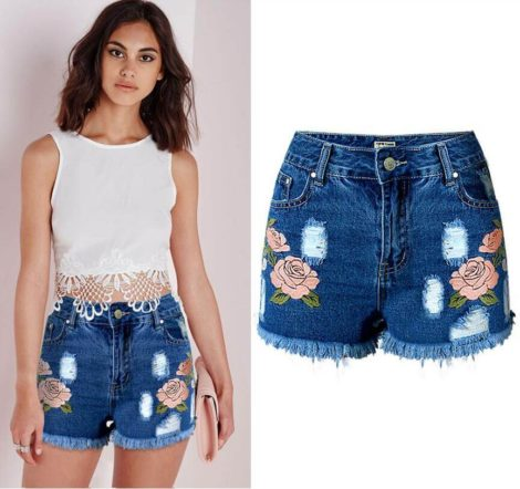 short jeans curto 2 470x442 - Como usar: SHORTS JEANS CURTO em diversos looks