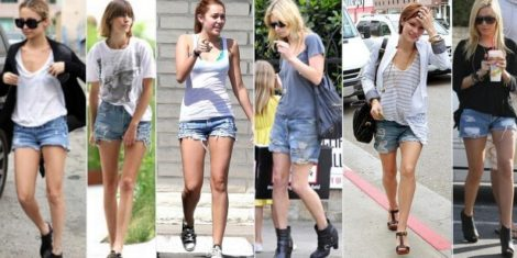 short jeans curto 3 470x235 - Como usar: SHORTS JEANS CURTO em diversos looks