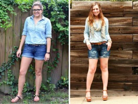 short jeans curto 8 470x353 - Como usar: SHORTS JEANS CURTO em diversos looks
