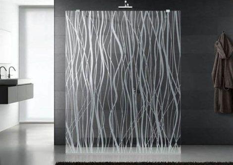 box com vidro jateado 470x334 - Tipos de Vidro Jateado para Portas e Janelas
