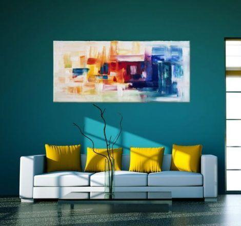 imagem 11 7 470x442 - Quadros Abstratos para Sala Fotos e Dicas