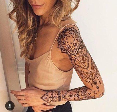 imagem 14 6 470x450 - Tatuagem Feminina no Braço, no Pulso, Ideias em Desenhos
