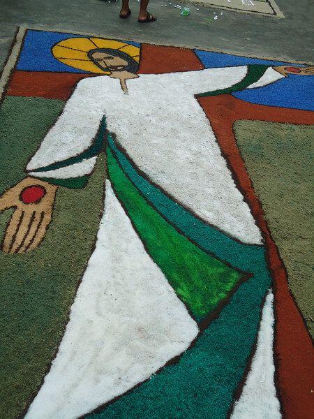 imagem 14 - Tapetes de Corpus Christi - Uma Tradição Católica