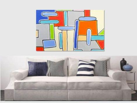 imagem 15 7 470x353 - Quadros Abstratos para Sala Fotos e Dicas