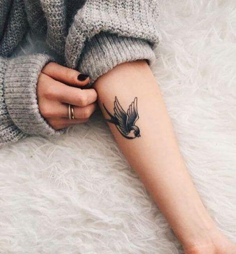 imagem 2 2 470x506 - Tatuagem Feminina no Braço, no Pulso, Ideias em Desenhos