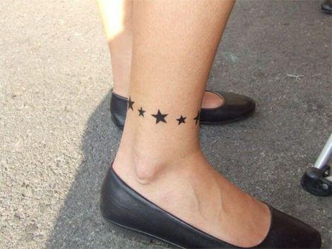 imagem 27 3 470x353 - Tatuagem de Estrela Feminina, Cores e Partes do Corpo