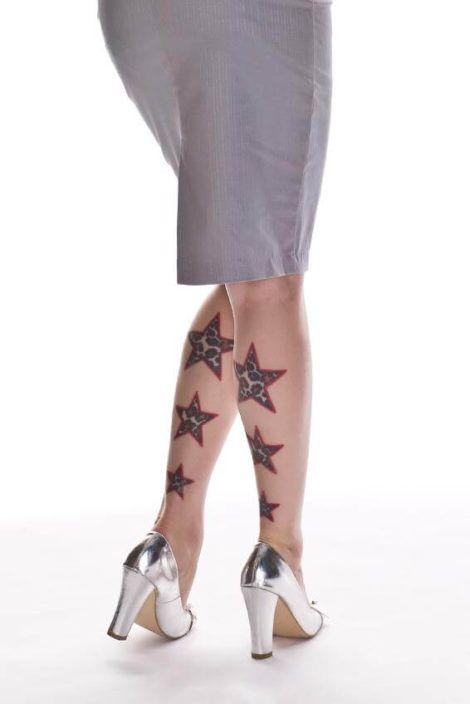 imagem 29 3 470x704 - Tatuagem de Estrela Feminina, Cores e Partes do Corpo