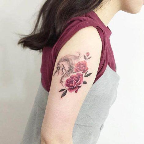 imagem 4 4 470x470 - Tatuagem Feminina no Braço, no Pulso, Ideias em Desenhos