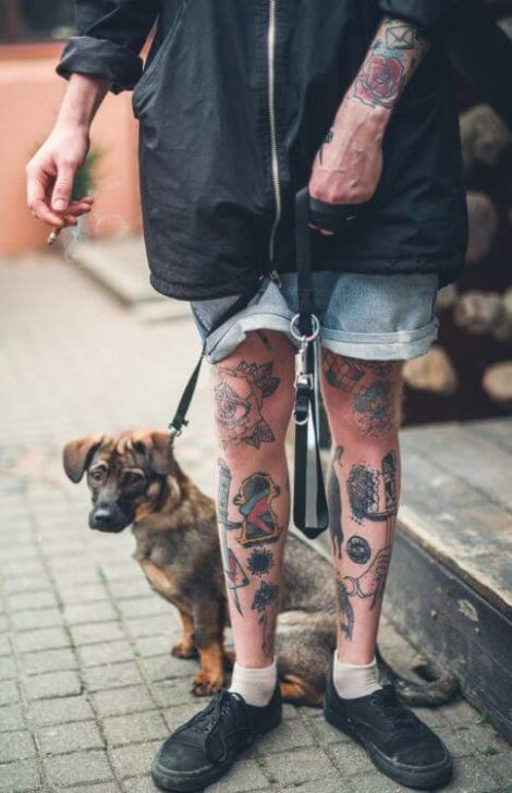 imagem 5 17 470x728 - Tatuagem Old School Desenhos, Fotos e Dicas