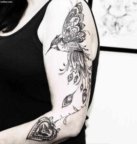 imagem 5 9 470x494 - Tatuagem Feminina no Braço, no Pulso, Ideias em Desenhos