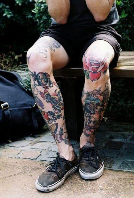 imagem 6 18 470x696 - Tatuagem Old School Desenhos, Fotos e Dicas
