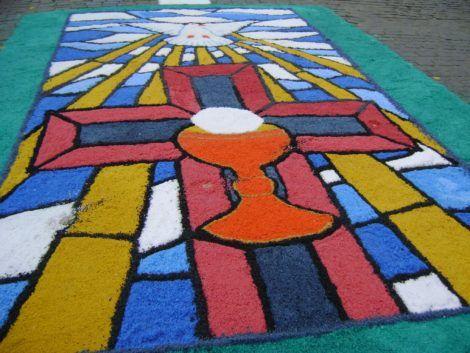 imagem 6 2 470x353 - Tapetes de Corpus Christi - Uma Tradição Católica
