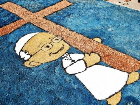 imagem 8 470x353 - Tapetes de Corpus Christi - Uma Tradição Católica