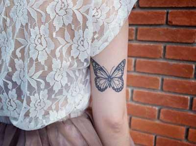 imagem 9 7 - Tatuagem Feminina no Braço, no Pulso, Ideias em Desenhos