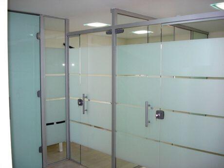 portas com vidro jateado - Tipos de Vidro Jateado para Portas e Janelas