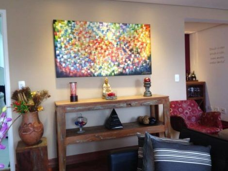 quadro abstrato para sala 3 470x353 - Quadros Abstratos para Sala Fotos e Dicas