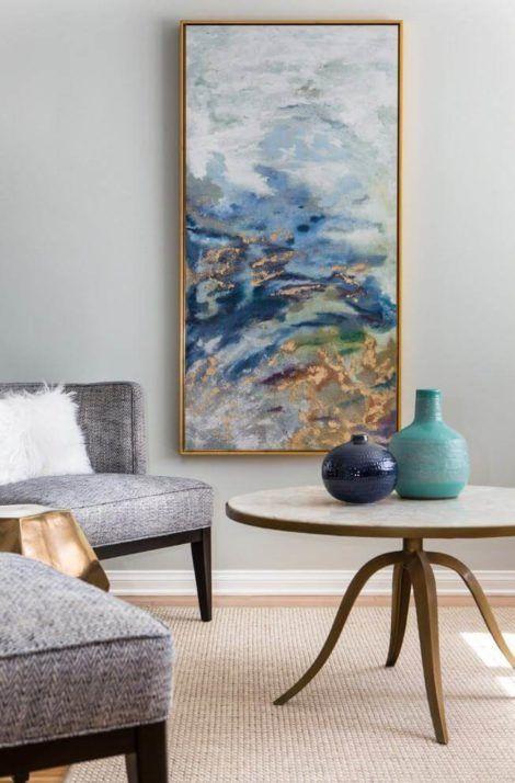 quadro abstrato para sala 4 470x714 - Quadros Abstratos para Sala Fotos e Dicas