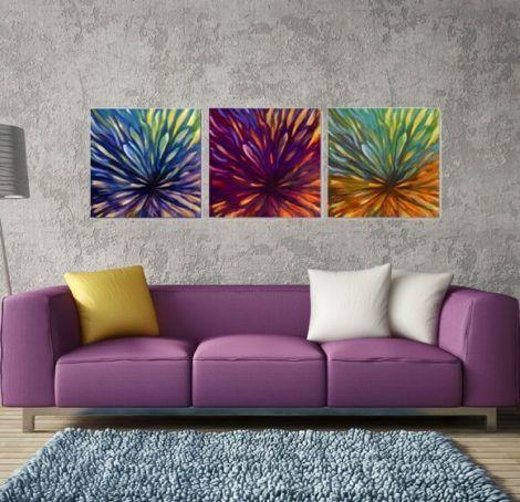 quadro abstrato para sala 6 470x454 - Quadros Abstratos para Sala Fotos e Dicas