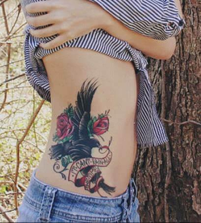 tatuagem old school na costela - Tatuagem Old School Desenhos, Fotos e Dicas